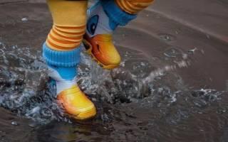 Какую обувь ребенку одевать осенью