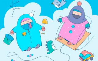 Во что зимой одеть ребенка