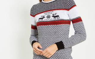 Свитер с оленями: где купить, с чем носить, образы блогеров