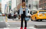 Что в Нью-Йорке будут носить осенью 2018, 10 трендов с улиц от ярко-желтого до хоз сумок