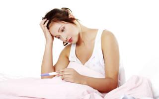 Тест отрицательный но есть признаки беременности