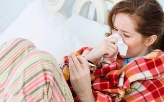 У кого началась беременность с простуды