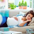 Перед родами хочется есть и спать