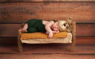 Как Ребенка В 4 Месяца Приучить Спать В Кроватке