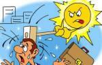 Солнечный Или Тепловой Удар У Ребенка Симптомы
