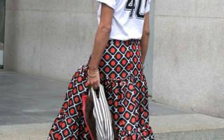 Какие юбки в пол носить если вам за 50: стильные идеи на лето 2020 для элегантного образа