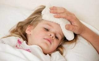 Высокая Температура У Ребенка А Ножки И Ручки Холодные