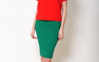 С чем носить зелёную юбку карандаш, фото и стильные советы