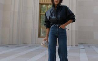 Какие джинсы носить высоким девушкам летом 2020: модные модели и стильные образы