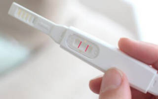 Тест для беременности с определением