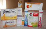 Элевит или фемибион при планировании беременности