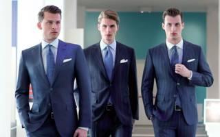 Современные офисные (городские) стили одежды для мужчин; часть 1