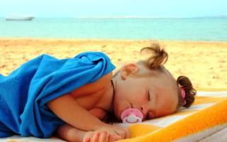 Тепловой удар у грудного ребенка