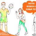 Как Научить Ребенка Рисовать Человечка В 5 Лет Поэтапно